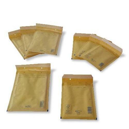 Mehrere Versandtaschen aus dem Standardsortiment der Tillmann Verpackungen Schmalkalden GmbH