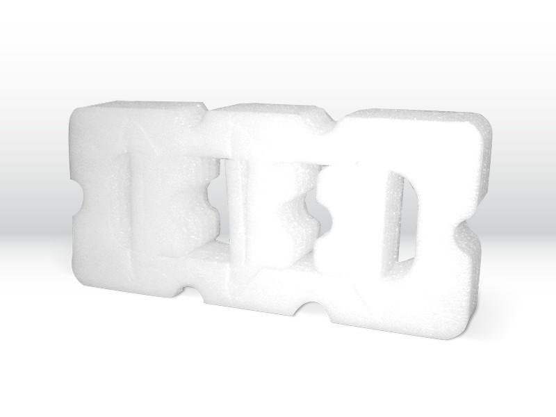 Schaumstoffverpackung mit produktbezogener Form aus PE-Schaum der Tillmann Verpackungen Schmalkalden GmbH