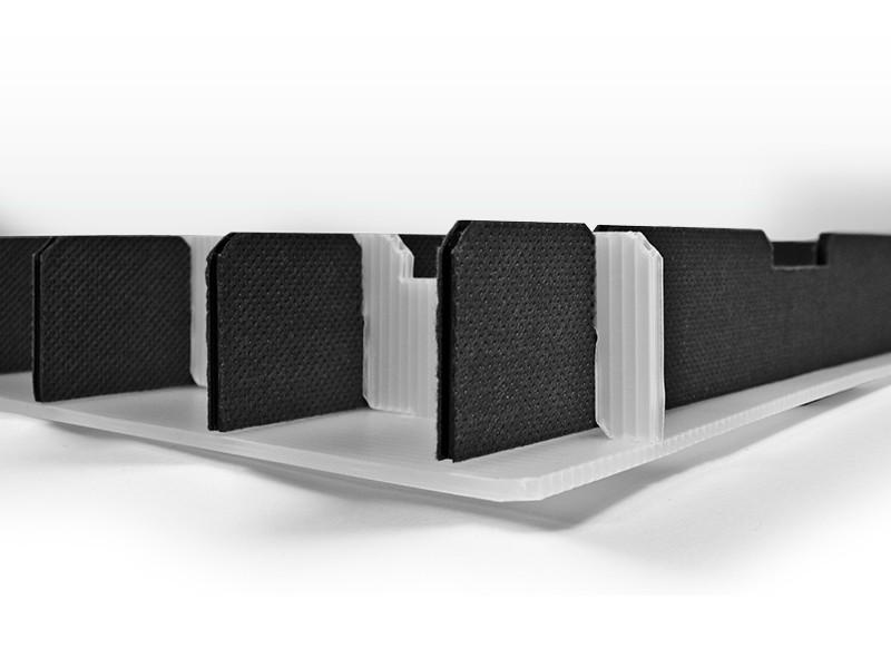Steckgefache aus Vollpappe mit integriertem Boden der Tillmann Verpackungen Schmalkalden GmbH