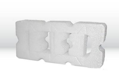 Einwegverpackung aus Schaumstoffv mit produktbezogener Form aus PE-Schaum der Tillmann Verpackungen Schmalkalden GmbH
