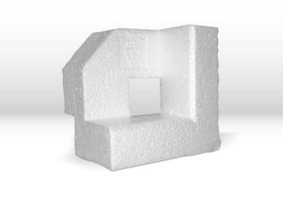 Styroporverpackung mit produktbezogener Formgebung der Tillmann Verpackungen Schmalkalden GmbH