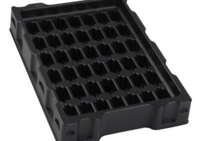 Leitfähige ESD Trays für Elektronikbauteile