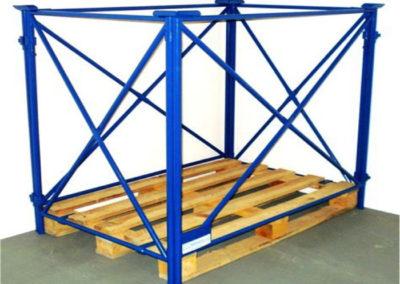 Rahmengestell für Palette