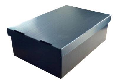 Exportverpackung für Elektronikbauteile