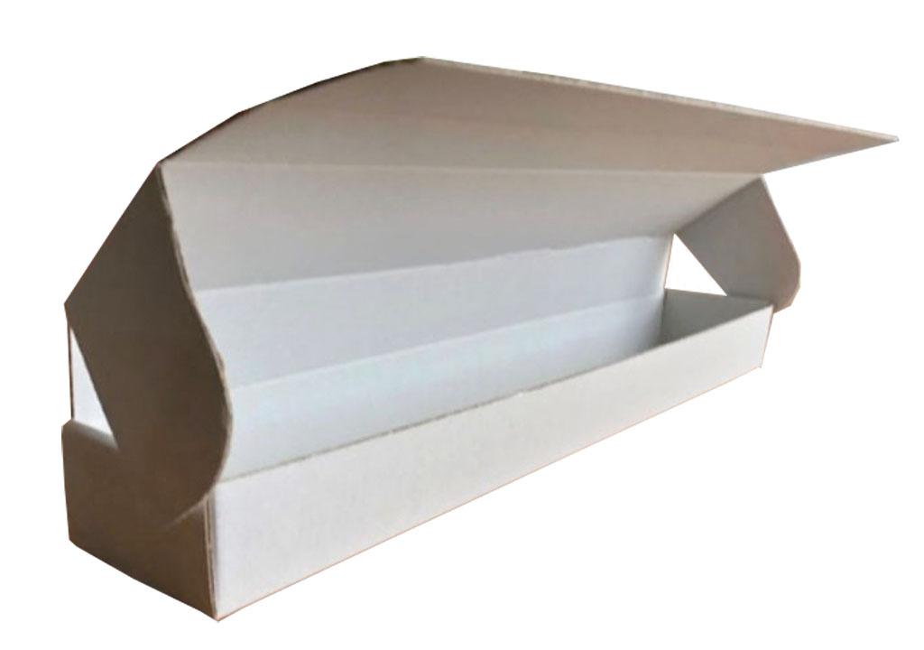 Eine Transport- und Verkaufsverpackung, speziell zugeschnitten für den Transport von Gläsern. Eine individuelle Verpackungslösung der Tillmann Verpackungen Schmalkalden GmbH.