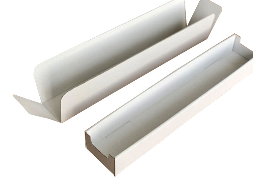 Zwei Transport- und Verkaufsverpackungen, speziell zugeschnitten für den Transport von Gläsern. Eine individuelle Verpackungslösung der Tillmann Verpackungen Schmalkalden GmbH.