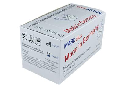 Verkaufsverpackung für Einweg Nasen-Mundschutzmasken