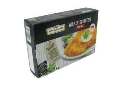 Verkaufsverpackung für Bioschnitzel