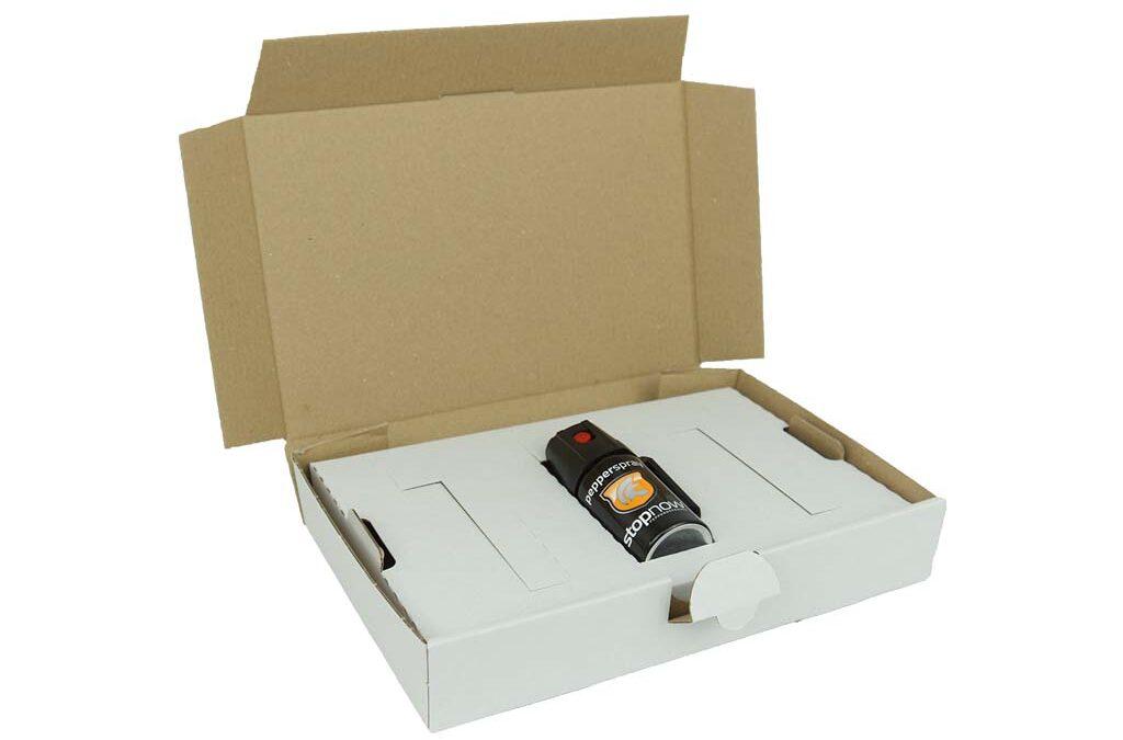 Verpackung für Pfefferspray