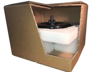 Verpackung für eine Kupplung